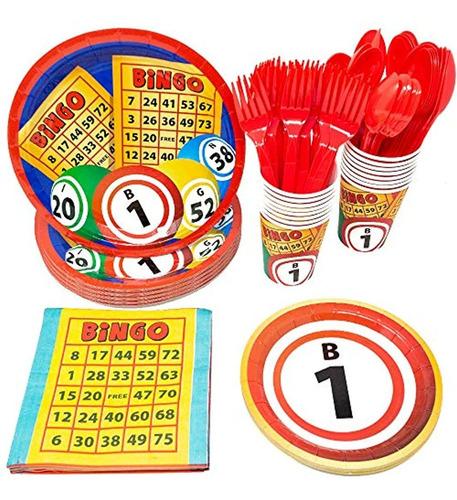Kit De Decoración Para Fiesta De Cumpleaños, Bingo