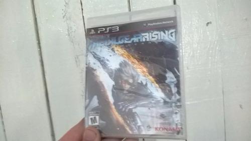 Metal Gear Rising Ps3 Lacrado!