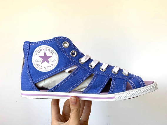 Tênis Converse Chuck Taylor All Star Gladiator Mid Blue