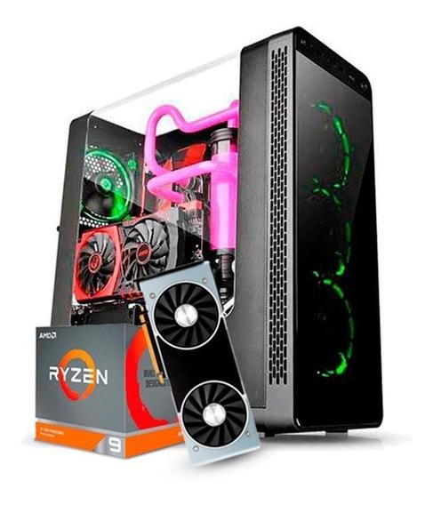Cpu Gamer Amd Ryzen 9 3900x Ssd 480tb Rtx 2080 32gb Ram