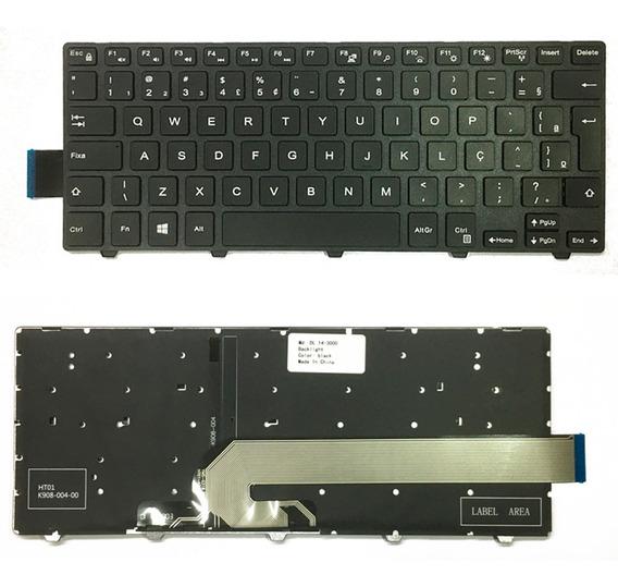 Teclado Retroiluminado Para Dell Inspiron 5447 5448 5458 P49