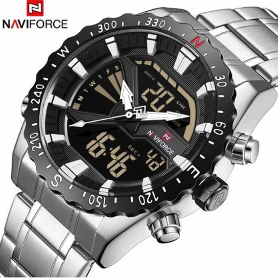 Relógio Naviforce 9136 Analógico E Digital Original