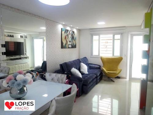 Imagem 1 de 30 de Sobrado - Condomínio Fechado Mooca - So0355