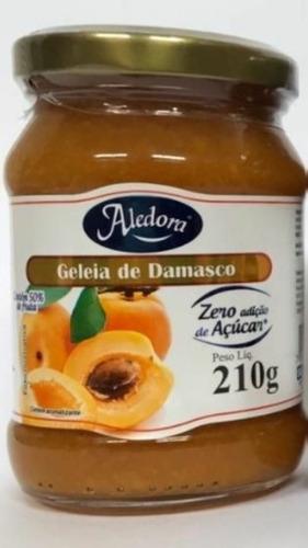 Imagem 1 de 10 de Geléia De Damasco Zero Açucar 210g
