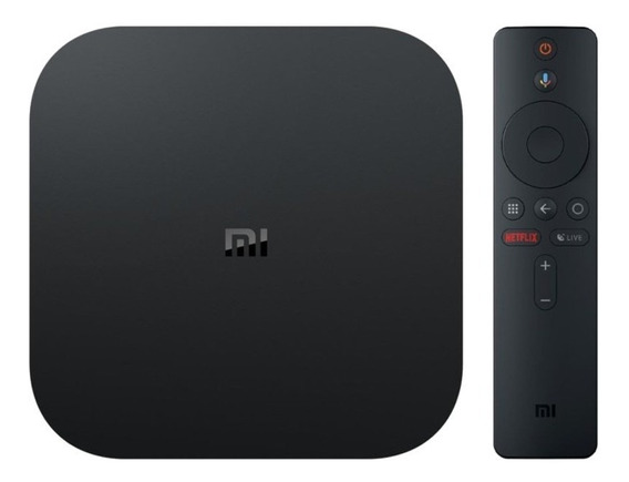 Xiaomi Tv Box Mi Box S 4k Global Bivolt Pronta Entrega