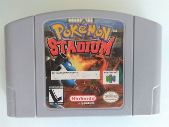 Pokemon Stadium Original Americana Salvando Nintendo 64