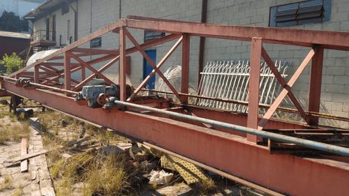 Imagem 1 de 9 de Ponte Rolante Dupla Viga 10 Ton  Sem Talha  - 2610