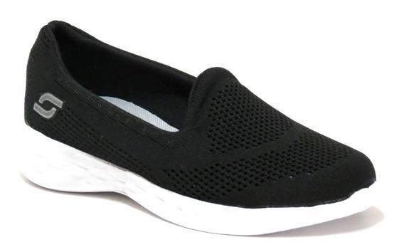 Zapatillas Mujer Panchas Soft Elastico 36 Al 41 5300s