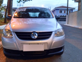 Vw Fox 1.6 Plus Completo Prata Ano 2008