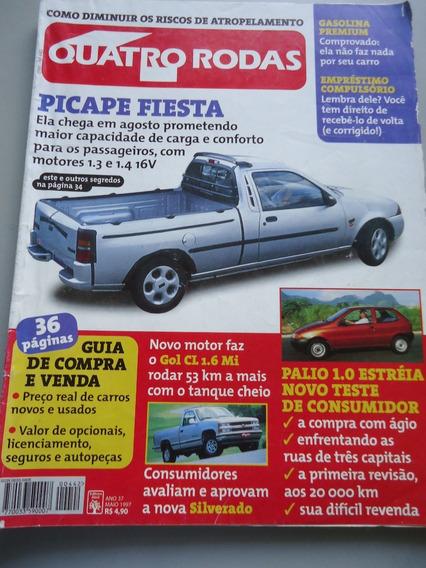 Quatro Rodas 442 - Picape Fiesta - C230 - Pajero Formula 1