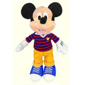 Mickey Ou Minnie Pelúcia 25cm Disney Dtc Original