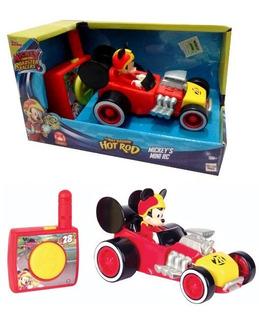 Juguete Auto Control Remoto Mickey 14x9x7cm- 57633