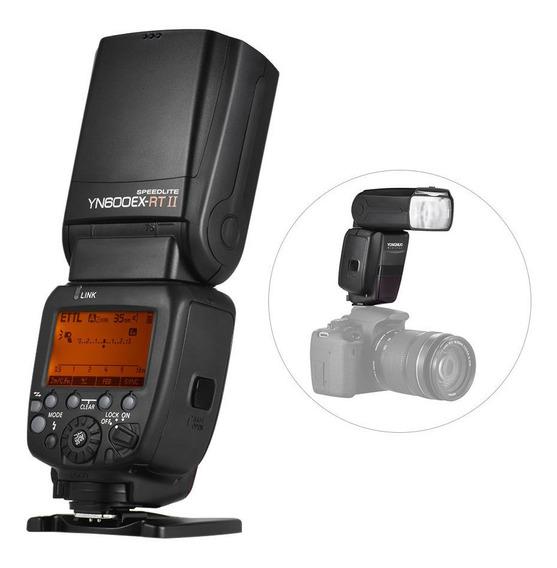 Flash Yongnuo Wi-fi Flash Yn 600ex-rtii Speedlite Canon Lançamento Acompanha Somente 1 Flash 600exrtii Novo Na Caixa....