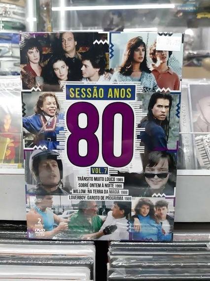 Dvd - Sessão Anos 80 | Vol.7 | 2 Discos