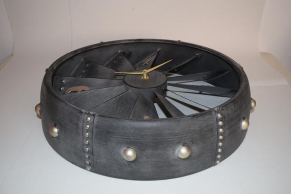 Reloj Turbina, Vintage, Retro.