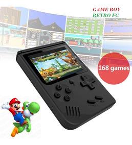 Game Boy (retro Fc) Com Mario Bros - 300 Jogos Na Memoria