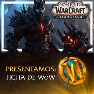 Ficha Wow - Saldo Battle Net - Oro World Of Warcraft