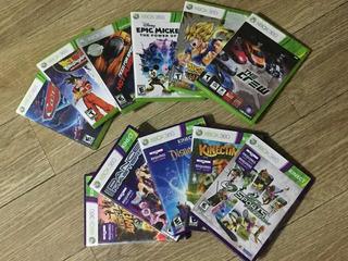 Vendo Xbox 360 Slim Con Kinect (mandos Y Juegos)