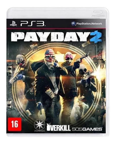 Payday 2 Ps3 Física Novo Rj (em Inglês) (requer Internet)