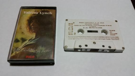 Valeria Lynch Para Cantarle A La Vida Cassette Nacionalllok