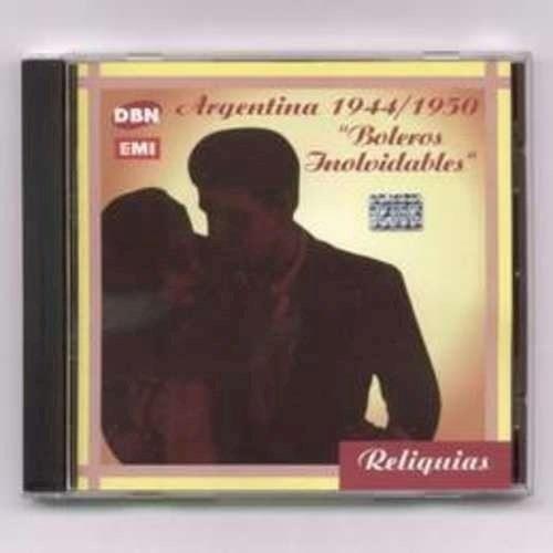 Imagen 1 de 1 de Boleros Inolvidables Vol 1 - Varios Interpretes (cd)