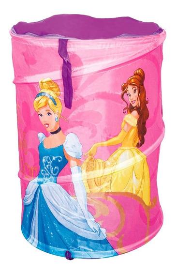 Porta Objetos Princesas Disney Cesto Brinquedos Zippy Toys