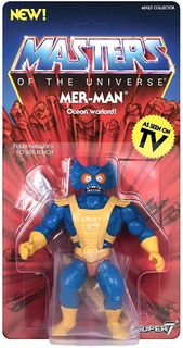 Super7 Masters Of The Universe Vintage Collection Mer-man