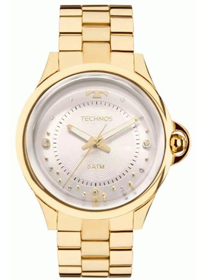 Relógio Technos Feminino Crystal 2039bm/4k