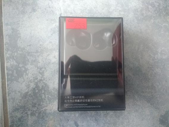 Fone Kz Zs3 + Adaptador Bluetooth