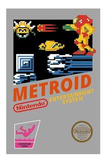 Metroid 1 Para La Consola Nintendo De 8 Bitis