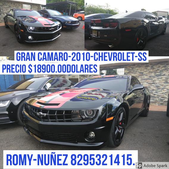 Chevrolet Camaro Americano.
