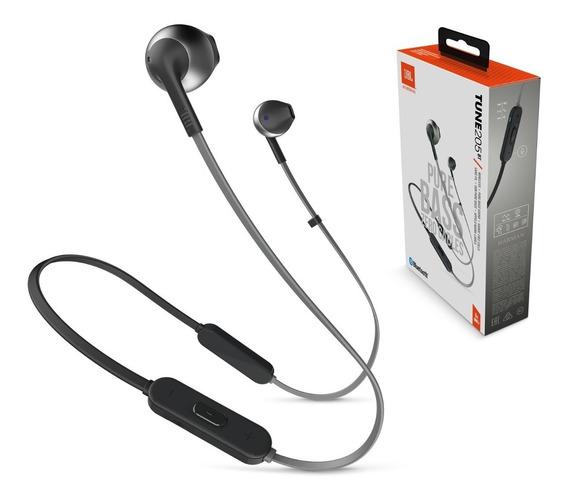 Fone Jbl T205 Bluetooth Sem Fio Garantia Nacional