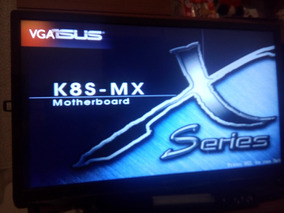 Asus K8s-mx Chipset Sis760 128+ Sempron 3.0 + Memoria 1gb