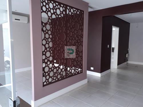 Salão Comercial Para Locação Em Mogi Das Cruzes, Centro, 3 Banheiros, 3 Vagas - Sl0075_2-1168107