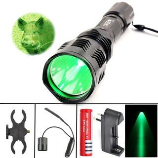 Lanterna T6 Verde C/ Acionamento Remoto P/cano-5mod. Op -nfe