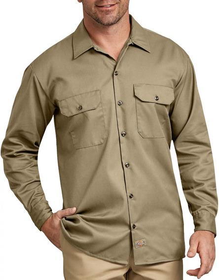 Dickies 574 Camisa Camisola Trabajo Manga Larga Talla Extras