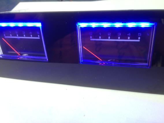 Vu Meter Analogico Para Amplificadores/serve Em Carro 12v