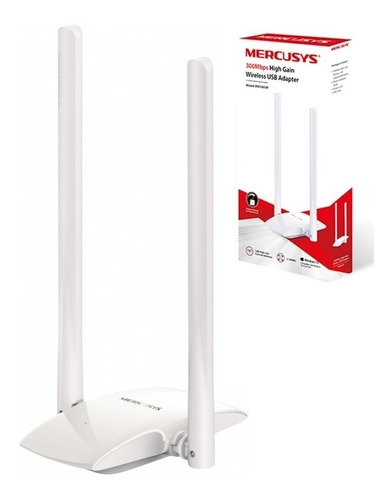 Antena Wifi Usb Tarjeta Receptor Mini 300 Mbps Mercusys