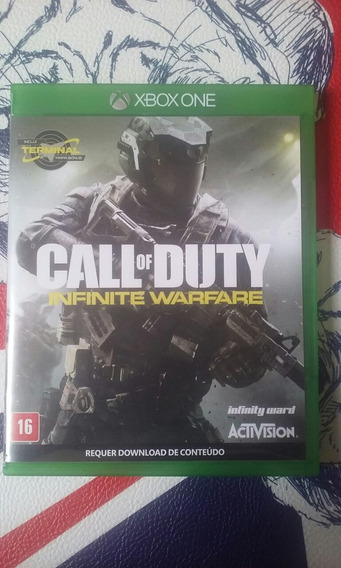 Jogo Call Of Duty Infinite Warfare Semi Novo