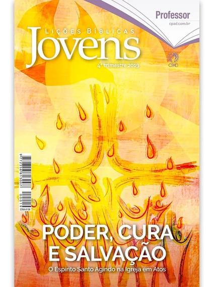 Revista Da Escola Dominical Cpad Aluno 10 Unidades 2 Mestre