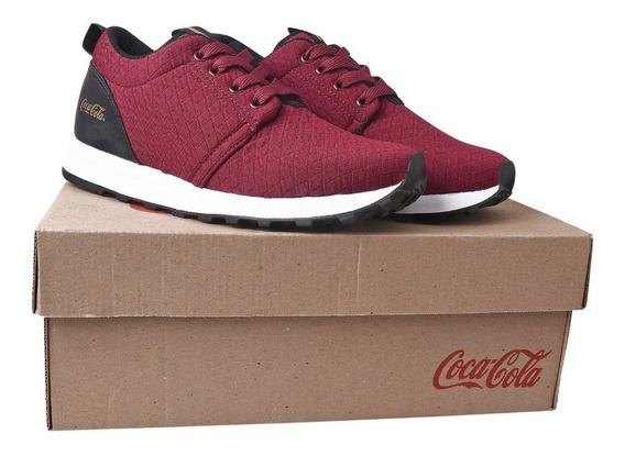 Kit 4 Pares Tênis Coca Cola Fashion Feminino Confortável Fre