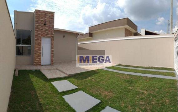 Casa Com 3 Dormitórios 1 Suíte, 83 M² Por R$ 370.000 - Residencial Cittá Di Firenze - Campinas/sp - Ca1643