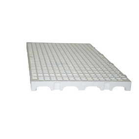 Palete De Plástico Modular Branco 25x50x2,5cm