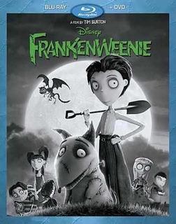 Blu-ray : - Frankenweenie (with Dvd, , Dubbed, Digital...