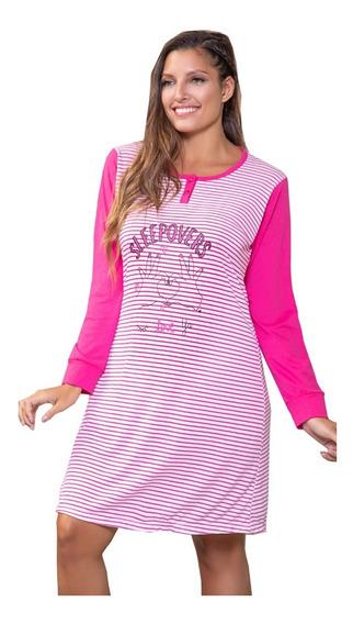 Remeron Pijama De Mujer Invierno Talles Grandes 20720