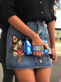 Bolsa Dior Jadior Azul Bic - Feminina - Frete Grátis