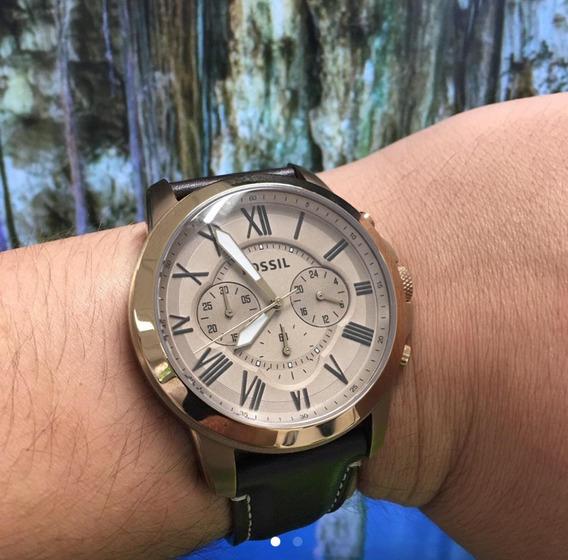 Relógio Fossil Cronógrafo Analógico Masculino Fs5107