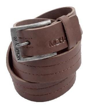 Cinturon Cuero Puntillismo Hombre | Moha (195210)