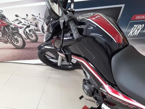 Imagem 1 de 15 de Honda Cg Titan Flex Cbs, Painel Moderno Blackout/ Vista