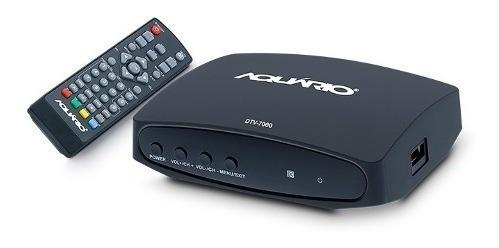 Conversor Digital Dtv-4000s Aquário A Pronta Entrega + Nf